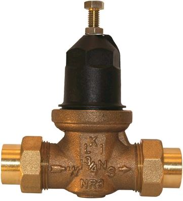 Wilkins 3/4 in. No Lead Brass Water Pressure Reducing Valve - 1-NR3